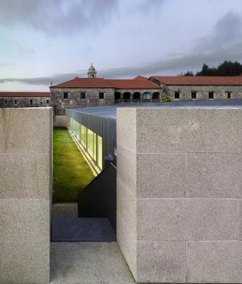 Edificio taller Monasterio de Armenteira