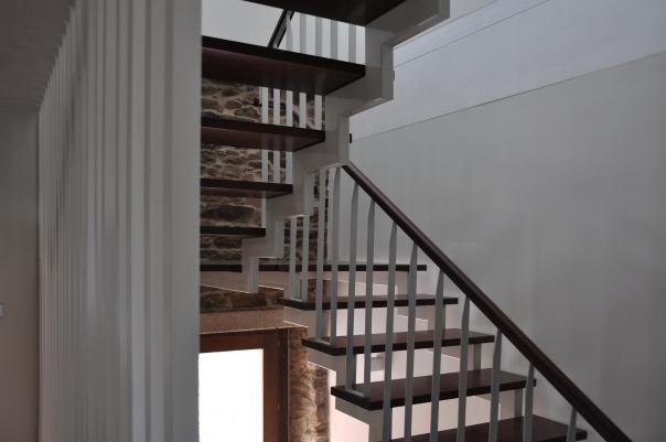 Rehabilitación de vivenda unifamililar en Vila de Cruces