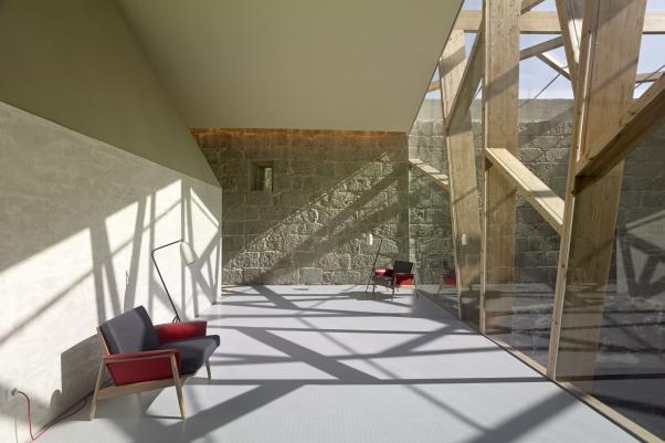NAVE LATERAL DEL MONASTERIO DE SAN CLODIO, LEIRO