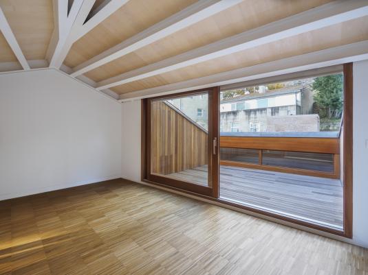 Reestructuración de 4 vivendas na rúa Ferrería 45-47 no casco vello de Vigo
